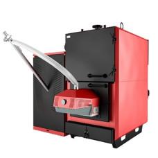 Промышленный пеллетный котел отопления с автоматической подачей Marten Industrial-T Pellet MIT-100P кВт
