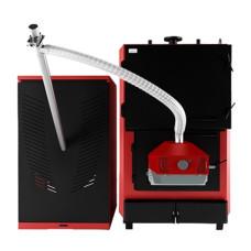 Промисловий пелетний котел опалення з автоматичною подачею Marten Industrial T Pellet MIT-150P кВт